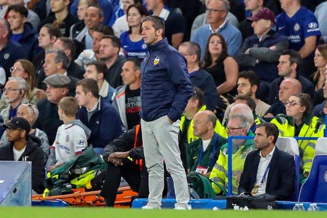 Fútbol/Primera.- (Previa) Celades se examina ante Mestalla y el Athletic quiere