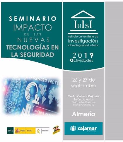 Finaliza este lunes el plazo de inscripción en el seminario 'Impacto de las nuevas tecnologías' en Almería