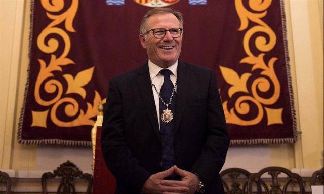 Eduardo de Castro, nuevo presidente de Melilla, en una imagen de archivo