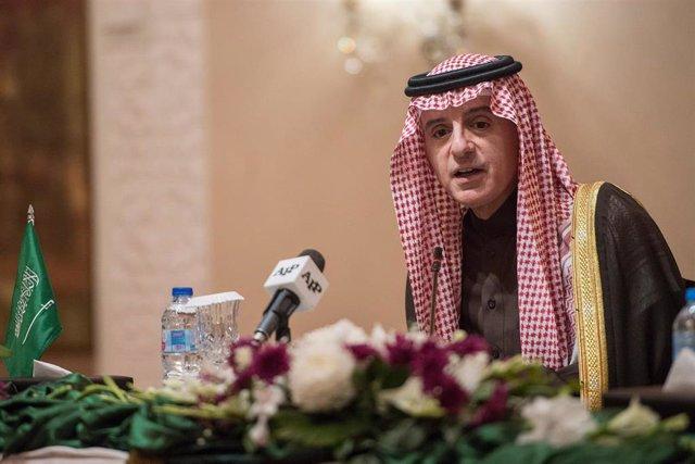 El ministro saudí de Asuntos Exteriores, Adel al Yubieir
