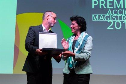 Celaá entrega los Premios Acción Magistral 2019, uno de ellos al IES Manuel Tárraga de San Pedro del Pinatar