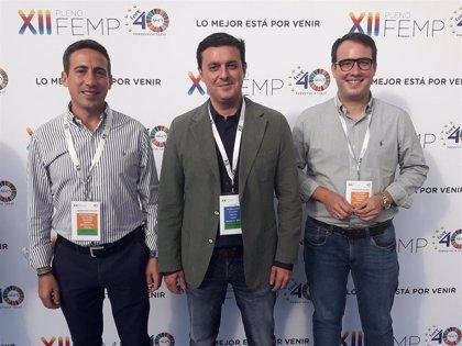 Diputación de Almería defiende las estrategias de sostenibilidad y promoción de municipios en el Pleno de la FEMP