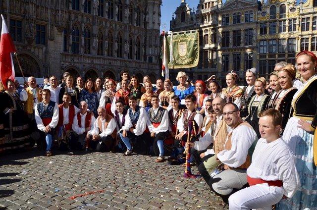 Cantabria participa en Bruselas en el Festival 'Folklorissimo'