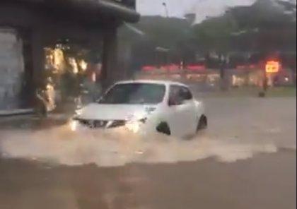 Muere ahogado un hombre en un aparcamiento inundado en Platja d'Aro (Gerona)
