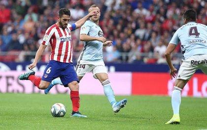 El Atlético empata sin goles con el Celta y alimenta sus dudas