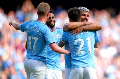 El Manchester City desmenuza al Watford y el Leicester remonta al Tottenham