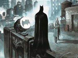 El 'batsenyal' llueix a la façana MNAC per celebrar el Batman Day i els 80 anys del personatge (ACN)