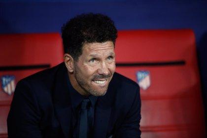 """Simeone: """"Sé que Costa volverá a estar en su mejor forma"""""""
