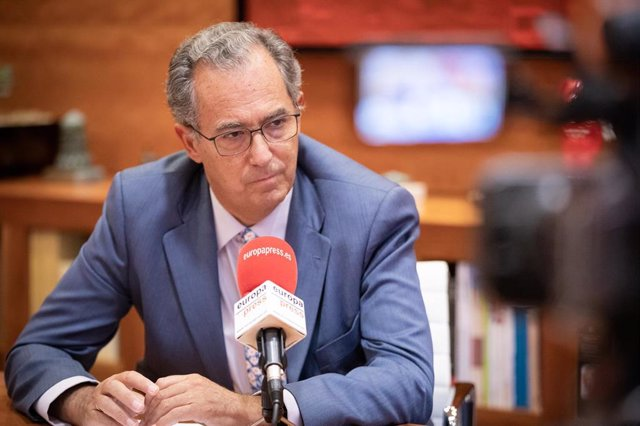El consejero de Educación y Juventud de Madrid, Enrique Ossorio, durante una Entrevista para Europa Press, en Madrid (España), a 20 de septiembre de 2019.