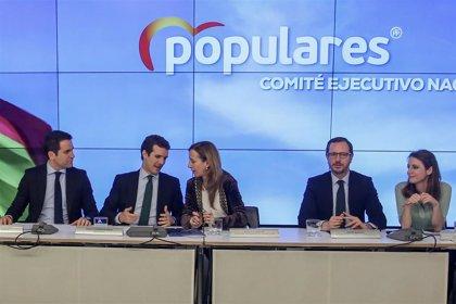 Casado reúne este lunes al Comité Ejecutivo del PP para empezar a preparar la campaña electoral