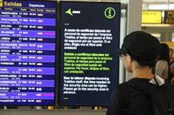 Iberia calcula en un 7,09% el seguiment del segon dia de vaga del personal de terra a l'Aeroport de Barcelona (ACN)
