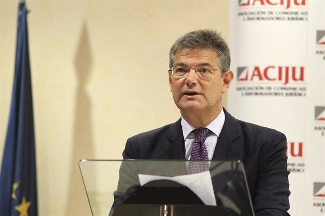 El exministro de Justicia, Rafael Catalá, en una foto de archivo