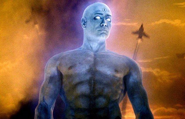 Doctor Manhatan en la película de Watchmen de HBO