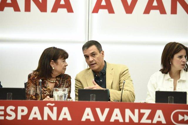 Reunión de la Comisión Ejecutiva Federal del PSOE, en su sede, en Ferraz, en Madrid, a 19 de septiembre de 2019.