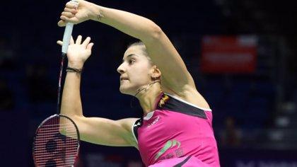 """Moreno felicita a Carolina Marín por su título del Abierto de China: """"Ejemplo de esfuerzo para todos"""""""