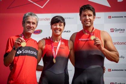 Fiz, Fuentes y Van Horenbeke dan el triunfo al equipo 123aCorrer Santander en el Santander Getxo Triatlón