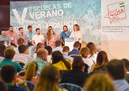 """Susana Díaz llama a la movilización ciudadana y recuerda al votante que """"en su voto está su poder"""""""