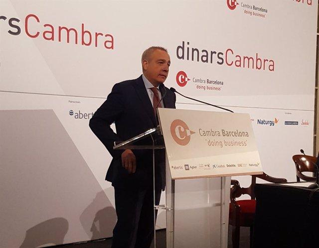 El delegat del CZFB, Pere Navarro, aquest dilluns