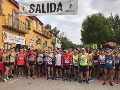 Unos 800 corredores participan en la XVI Subida al Quiebrajano de Jaén