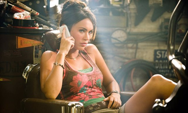 Megan Fox como Mikaela Banes en Transformers
