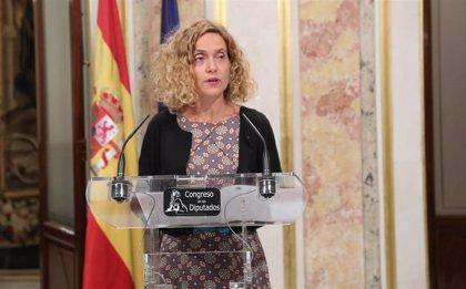 """Meritxell Batet resalta la capacidad de """"abrir la puerta a los acuerdos"""" de Miquel Valls"""
