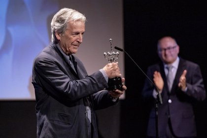 Costa-Gravas recibe el Premio Donostia y manda un contundente mensaje
