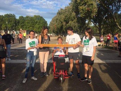 Unas 1.700 personas participan en una marcha por la esclerosis múltiple en Banyoles (Girona)