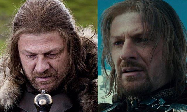 """El actor """"dando vida"""" a Ned Stark y Boromir"""