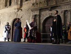 La Seu Vella torna al 1150 en la recreació de les Noces Reials de Ramon Berenguer IV i Peronella d'Aragó (ACN)