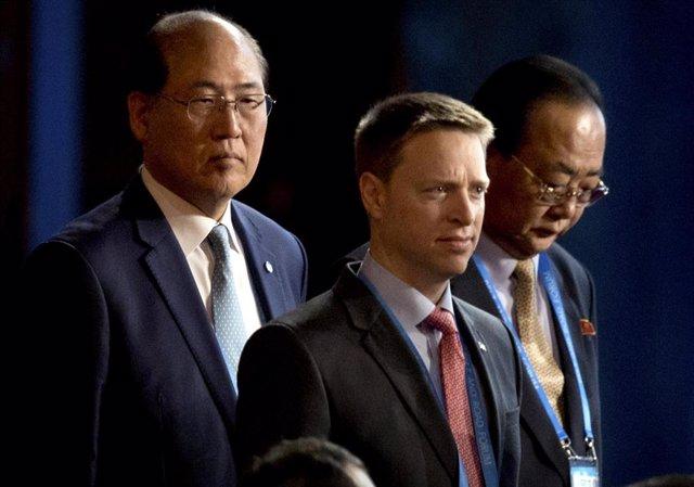 Matt Pottinger, principal asesor de Asia de la Casa Blanca