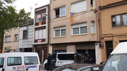 Nueve detenidos en una operación de la Guardia Civil contra independentistas que planeaban acciones violentas