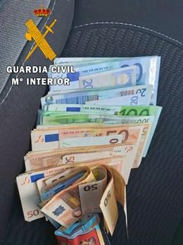 Dinero hurtado a una amiga en Vera (Almería)