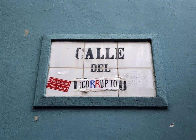 Protestas contra la corrupción en Puerto Rico
