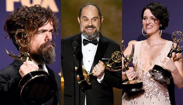Peter Dinklage, Craig Mazin y Phoebe Waller-Bridge, algunos de los ganadores de los premios Emmy 2019