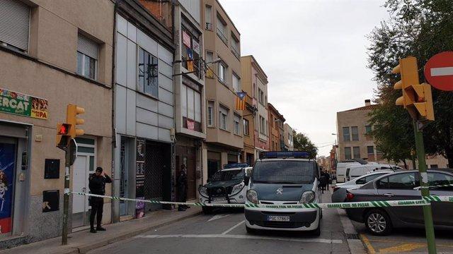 Operació de la Guàrdia Civil contra independentistes a Sabadell