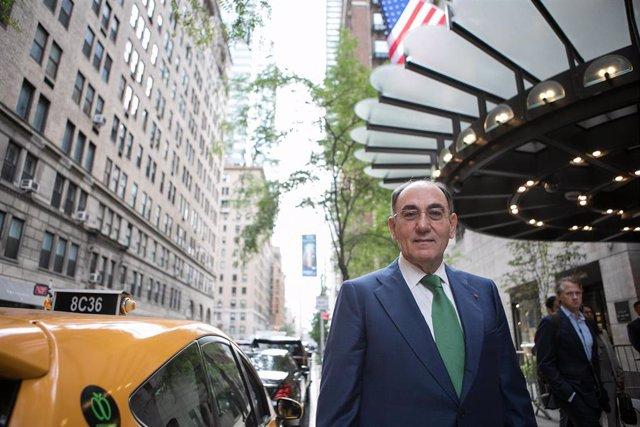 El presidente de Iberdrola, Ignacio Sánchez Galán, en Nueva York