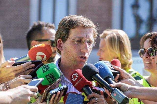Imagen de recurso del alcalde de Madrid, José Luis Martínez-Almeida.