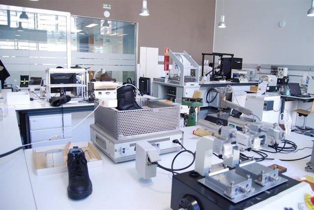 Laboratorio del Centro Tecnológico del Calzado de Arnedo