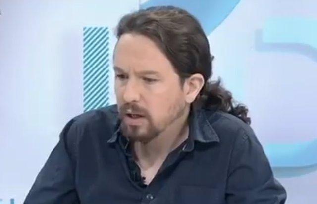 Entrevista al secretario general de Podemos, Pablo Iglesias