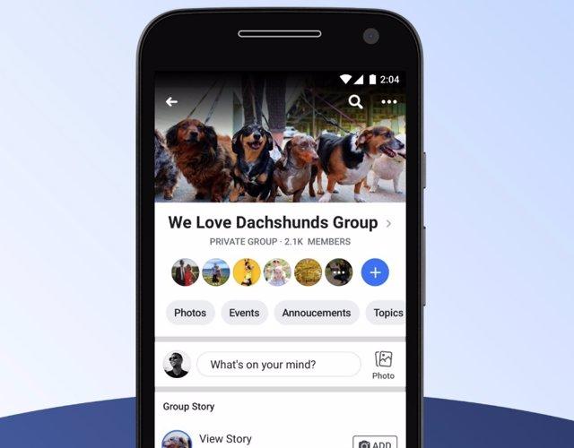 Facebook eliminará las historias de grupo el 26 de septiembre