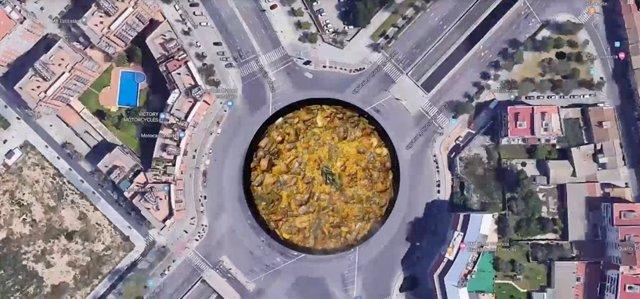 """Turismo.- Una iniciativa pide una """"calle de la paella"""" en Valncia con una recog"""