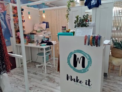 'Make it the Brand' aterriza en Vallsur para customizar prendas y crear diseños únicos