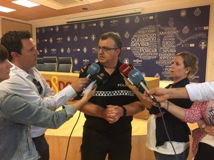 Policía de Sevilla pone en valor el operativo para detener al presunto atracador desde Cádiz y que portaba un arma larga