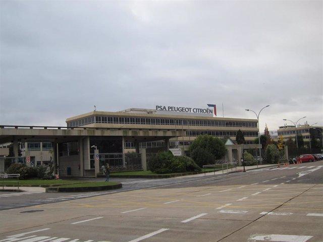 Planta de PSA Peugeot Citroën en Vigo