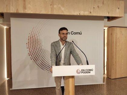 """Los comuns ven preocupante la detención de nueve miembros de CDR: """"Es banalizar el terrorismo"""""""