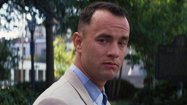 Tom Hanks en Forrest Gump, que cumple 25 años