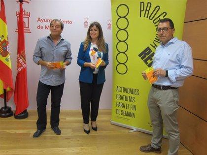 Hasta 40 actividades gratuitas para los jóvenes del municipio de Murcia durante los próximos diez fines de semana
