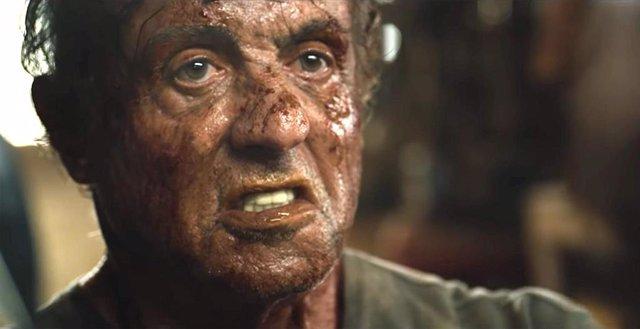 Sylverster Stallone en Rambo: Last Blood