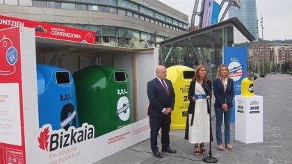 Bizkaia pone en marcha una campaña para fomentar entre los ciudadanos la reducción de la generación de residuos
