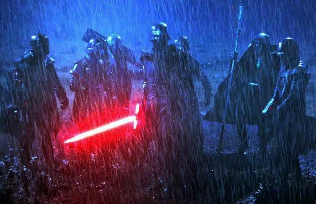 Imagen de los Caballeros de Ren en Star Wars: El despertar de la fuerza